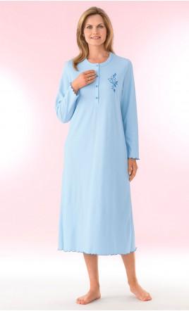 chemise de nuit tee-shirt manches longues - SALFORD