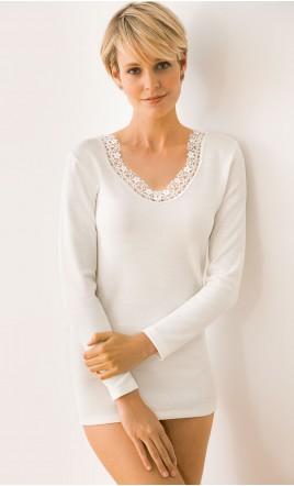 chemise manches longues - VANOUSIA