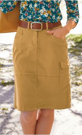 jupe droite - LESLIE