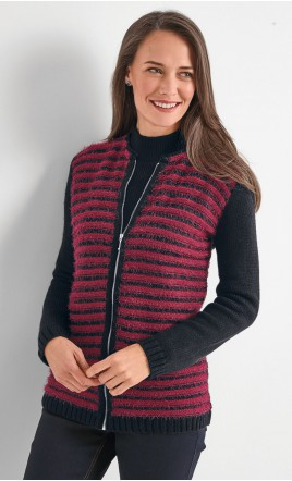 cardigan zippé - PACOME
