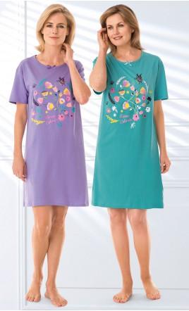 lot de 2 chemises de nuit tee-shirt - SYMANE