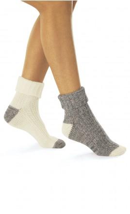 lot de 2 paires de chaussettes - BORION