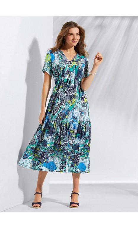 robe volantée - EXPRESS