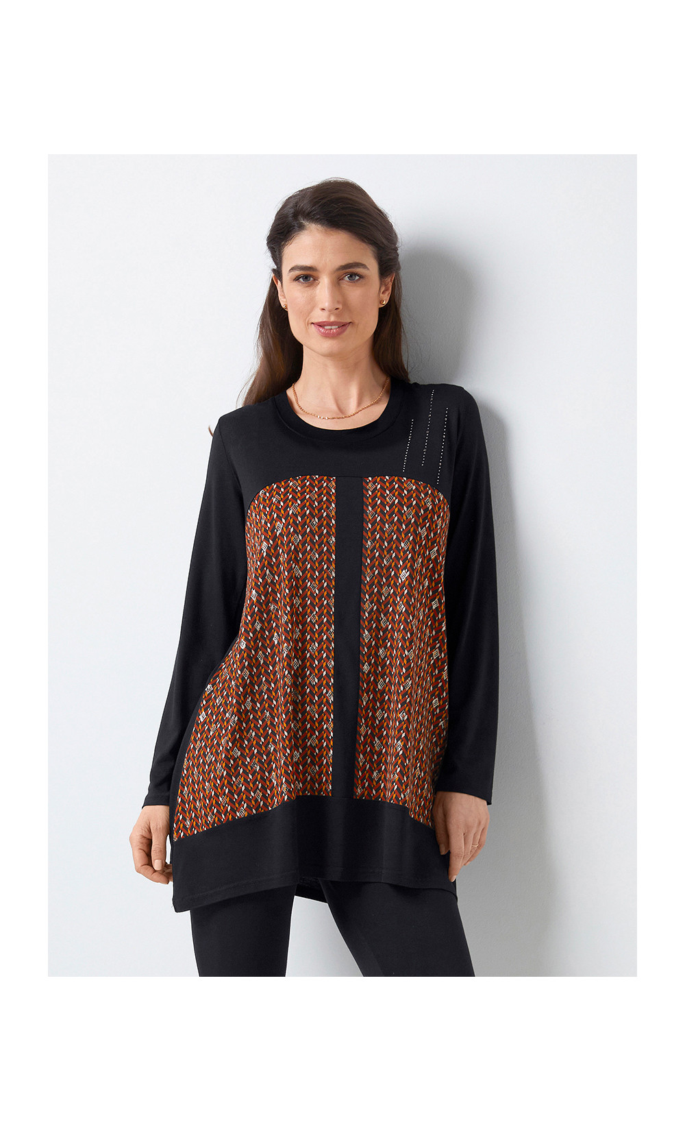tee-shirt long - CAROMBO
