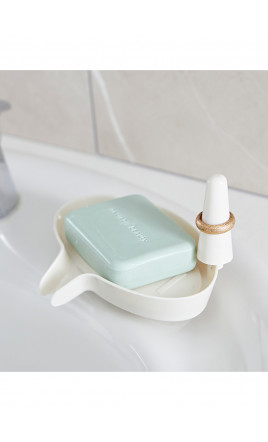 porte savon avec support bagues - GENTLEMAN
