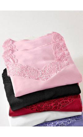 2 chemises manches longues - VEINETTE